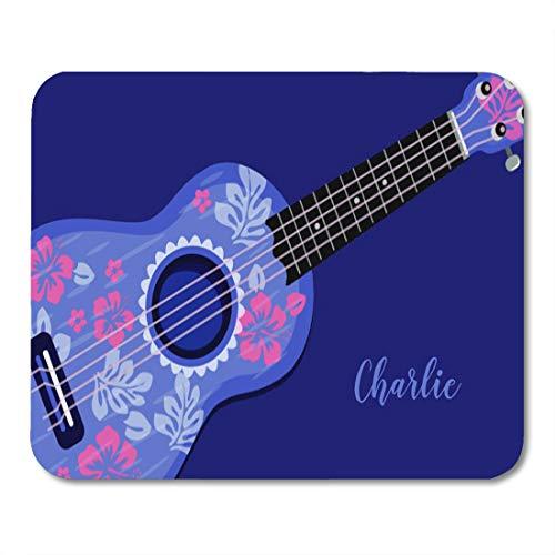 Aikul Mousepad Colorful Uke Ukulele Custom Name Throw for sale  Delivered anywhere in Canada