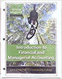 img - for Introduction to Financial and Managerial Accounting Central New Mexico Community College book / textbook / text book