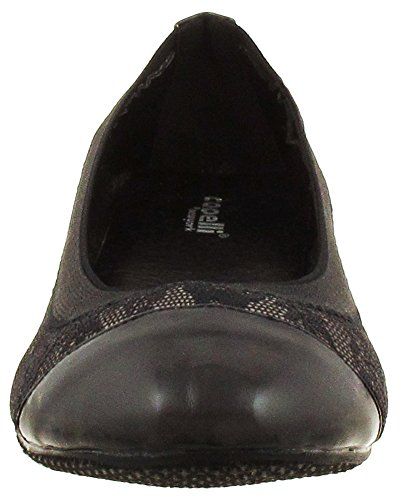 Capelli New York Lace Overlay Dames Flats Taupe