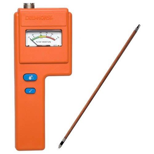 Delmhorst F-6/1235 Analog Moisture Meter Package, 1235 Probe, 10