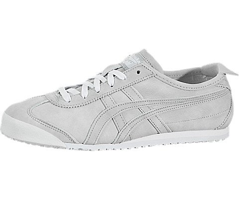 buy popular 53bb4 47f85 Onitsuka Tiger Womens Mexico 66 Mid Grey/Mid Grey Sneaker - 7