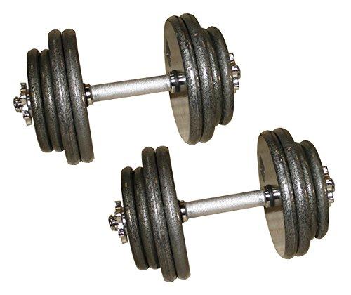 Ader Gray Adjustable Dumbbells- 40, 45, 50, 55, 60, 80 LB