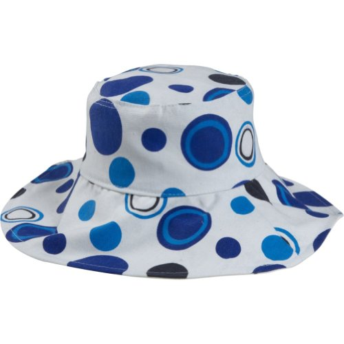 magid-dot-print-bucket-hat-blue-dot