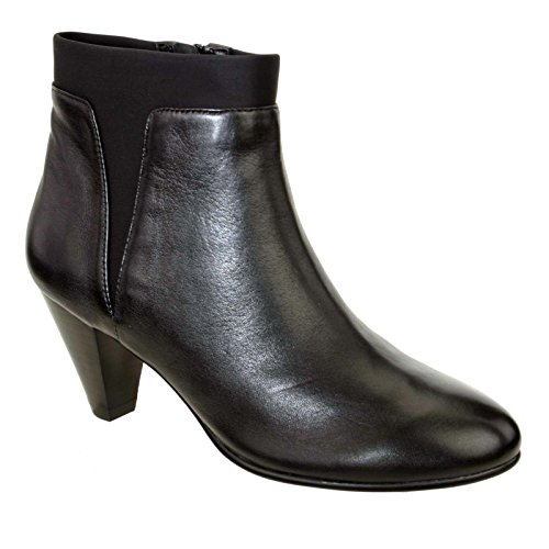Ankle Boots In Pelle Moda Vivian David Tate Donna Nero