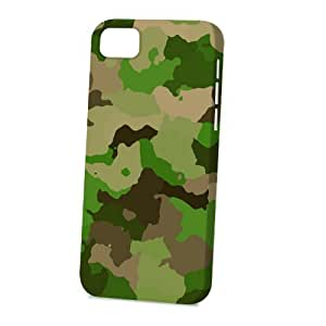 MMZ DIY PHONE CASECase Fun Apple ipod touch 4 Case - Vogue Version - 3D Full Wrap - Light Green Camouflage