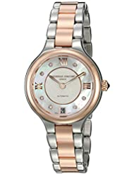 Frederique Constant Womens Delight Automatic Stainless Steel Casual Watch, Color:Two Tone (Model: FC-306WHD3ER2B)