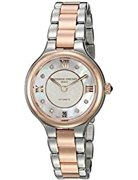 Women's 'Delight' Automatic Stainless Steel Casual Watch, Color:Two Tone (Model: FC-306WHD3ER2B)