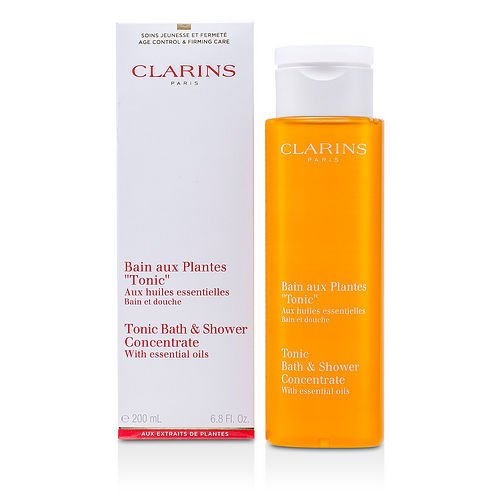 Clarins by Clarins Tonic Shower Bath Concentrate--200ml/6.7oz for WOMEN ---(Package Of 4)