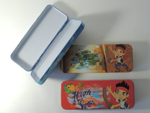 Disney Jack Neverland Pirates (Random 1pcs Tin Pencil Case)