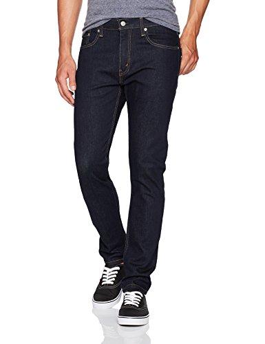Levi's Men's 512 Slim Taper Fit Jean, Dark Hollow - Stretch, 32W x 32L