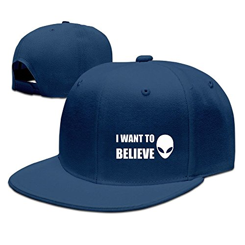 nubia-i-want-to-believe-sunbonnet-trucker-cap-adjustable-flat-bill-hat-navy