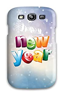 New Style 5292269K32708658 For Galaxy S3 Tpu Phone Case Cover(new Year)