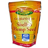 Manitoba Harvest Certified Organic Shelled Hemp Seed - 12 Oz (Pack of 6) - Pack Of 6