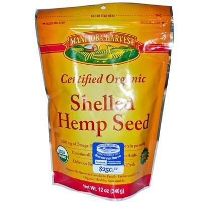 Manitoba Harvest Certified Organic Shelled Hemp Seed - 12 Oz (Pack of 6) - Pack Of 6