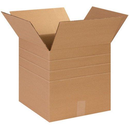 Aviditi MD141414 Multi-Depth Corrugated Box, 14