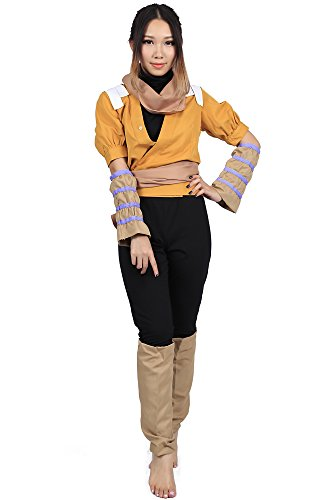 "[ICEMPs Bleach Cosplay Costume ""Demon cat†Shihouin Yoruichi 3rd Ver Outfit Set] (Third Leg Costume)"