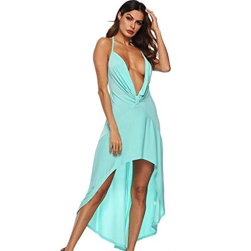 Elegante Lungo Cocktail Abito Vestito Vacanza Donna Partito Sera d7gwOqxw