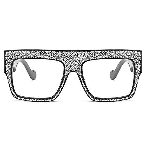 Marco C8 Cool Rhinestone Sunglasses de grande Tide lujo rg07qwHr