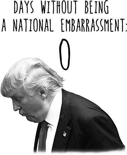 Trump national embarrassment Vinyl Decal Wall Laptop Bumper Sticker 5