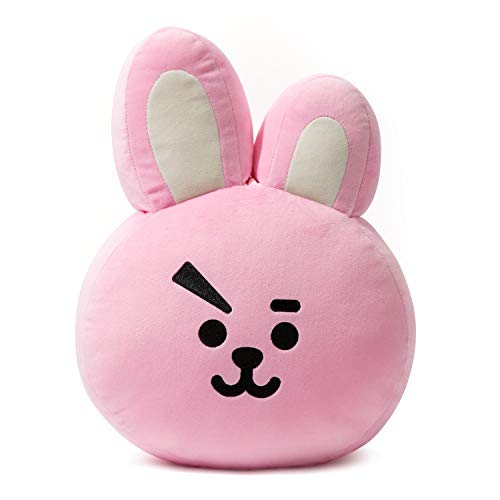 BT21 Official Merchandise by Line Friends - Cooky Decorative Throw Pillows Cushion, 11 Inch