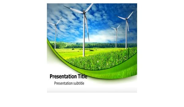 Amazon com: Renewable Energy Powerpoint (PPT) Templates