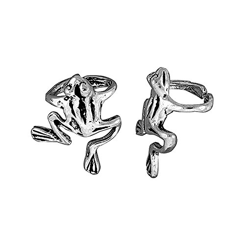 Sterling Silver Frog Earring piece