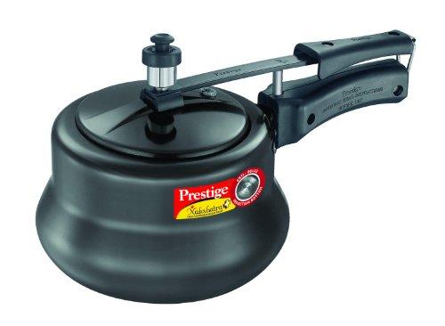 Prestige Nakshatra Plus Hard Anodised Inner Lid Aluminium Pressure Handi, 3 ...