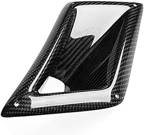 Nrpfell Left Car Vent Intake Vent Intake Air Duct Professional Auto Vent Intake for Real Carbon Fiber for 350Z 03-2009