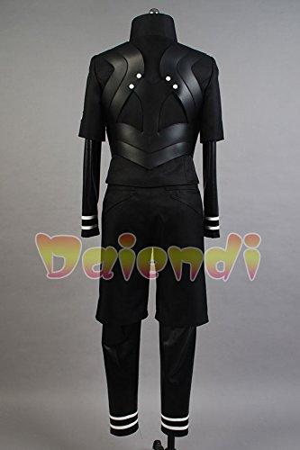 Disfraz para adulto de Ken Kaneki, de la serie Tokyo Ghoul, traje de batalla, ideal para juegos de rol, fiestas temáticas, talla americana, de Daiendi