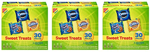 Nabisco Sweet Treats - Variety Pack Cookies, 30 Count Box, 23.4 Ounce (3 Packs)
