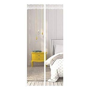 Zanzariera Magnetica per Porte, Ventilazione Anti-zanzara Muta Bianca Velcro Tenda Porta Adatto per Balcone Soggiorno… 12 spesavip