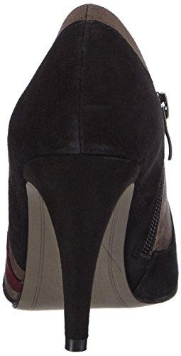 Tamaris 24404 - Zapatillas de casa de material sintético mujer multicolor - Mehrfarbig (Black Comb 098)