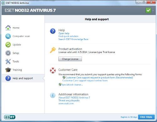 eset antivirus free edition