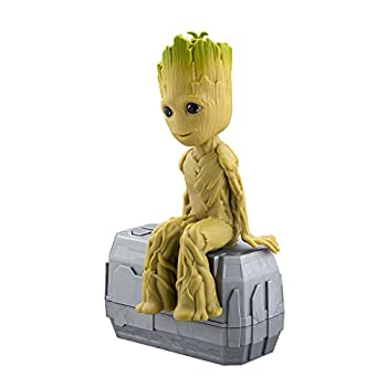 Marvel Guardians of the Galaxy Dancing Groot – NEW Talking I Am Groot Featuring Little Groot! Voice & Sound Activated Dancing Mini Groot with In-built Music
