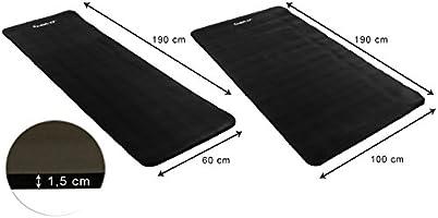Movit® - Esterilla para Pilates - Sin ftalatos Colchoneta de Yoga/Gimnasia Homologada por la SGS - Largo 190 cm x 100cm/60cm Grosor 1,5 cm Estera de ...