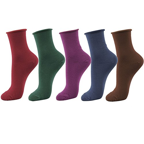 Womens Ankle Cotton Socks 5pair
