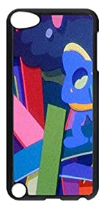 Abstract Kaws Filmgrain 4 PC Case Cover for iPod Touch 5 Transparent