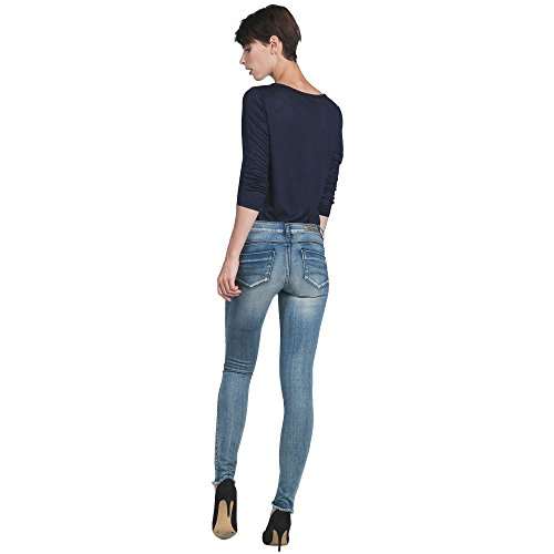 Skinny Us LPB Et Detail Collection Printemps Frange Woman Chin Femme Gris Jean x6qtEqU