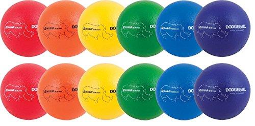 Champion Sports Rhino Skin Dodgeball - Set of 12 by Champion Sports