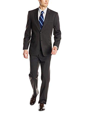 Love Dress Men's Bowman Grey 2 Button Side Vent Suit 5XL by Love To Dress