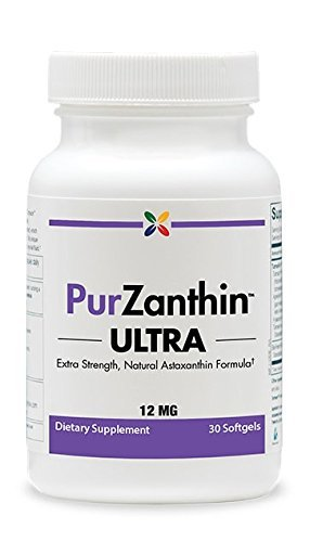 Stop Aging Now PurZanthin ULTRA Natural Astaxanthin 12 MG Softgels (1 Pack) by Stop Aging Now (Image #3)