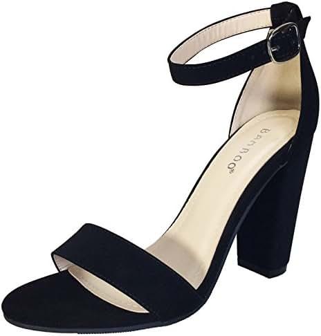 1182a96d03c Mua Chunky Heel Ankle Strap Sandals trên Amazon chính hãng giá rẻ
