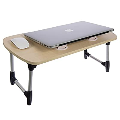 Stand Up Desk Converter-Standing Desktop Desk- Laptop Table-Portable Foldable Laptop Desk Riser-Instant Conversion to Sit-Stand Desk