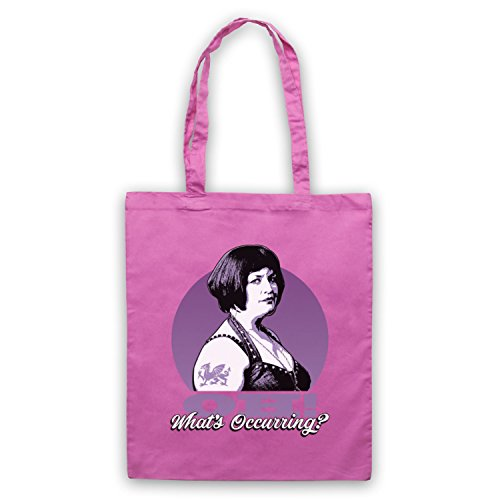 Whats Unofficial Ness Oh Inspired Bag by Stacey Gavin Tote amp; Pink Occurring xYwT1gU