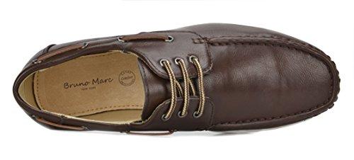 12 Dk brn dk brown Shoes Marc Oxfords Men's Pitts Bruno wq47XSg