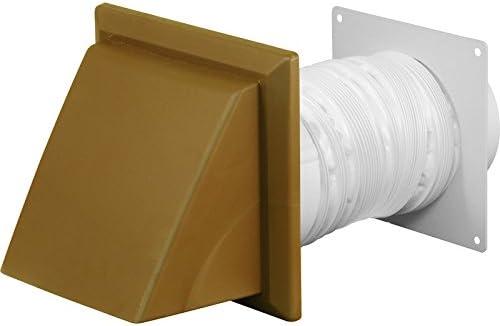 Para campana extractora con Kit 125 mm 1 m marrón: Amazon.es: Bricolaje y herramientas