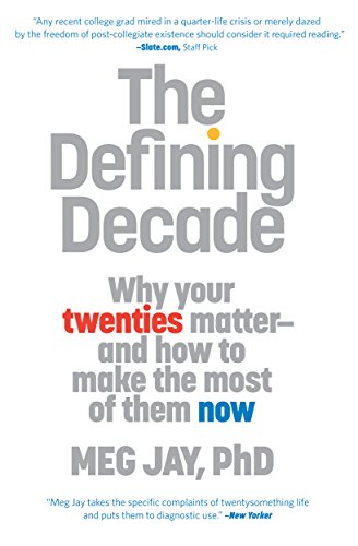 Amazon the defining decade why your twenties matter and how the defining decade why your twenties matter and how to make the most fandeluxe Image collections