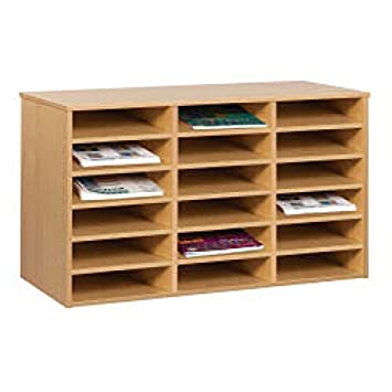 Monarch Pigeon Hole Unit With 18 Compartment A4 CT3052