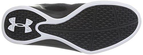 Sous Jet Darmure Trois Hommes Chaussures De Basket-ball Noir - Noir (noir / Noir / Blanc)