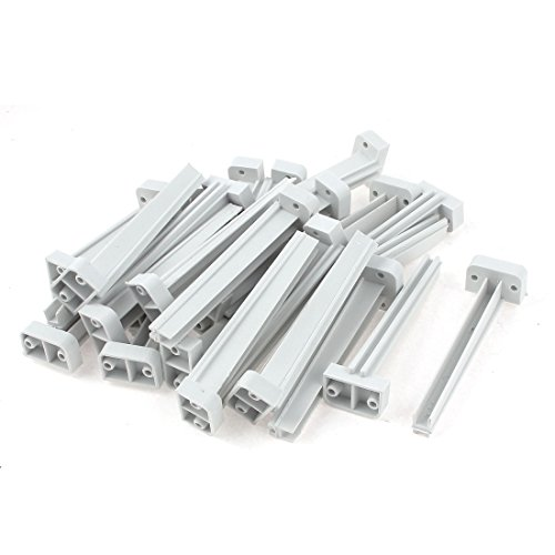 Guide Slot - Uxcell a15080400ux0550 25pcs Vertical Mount PCB Circuit Board Card Slot Guide Rail Holder Bar